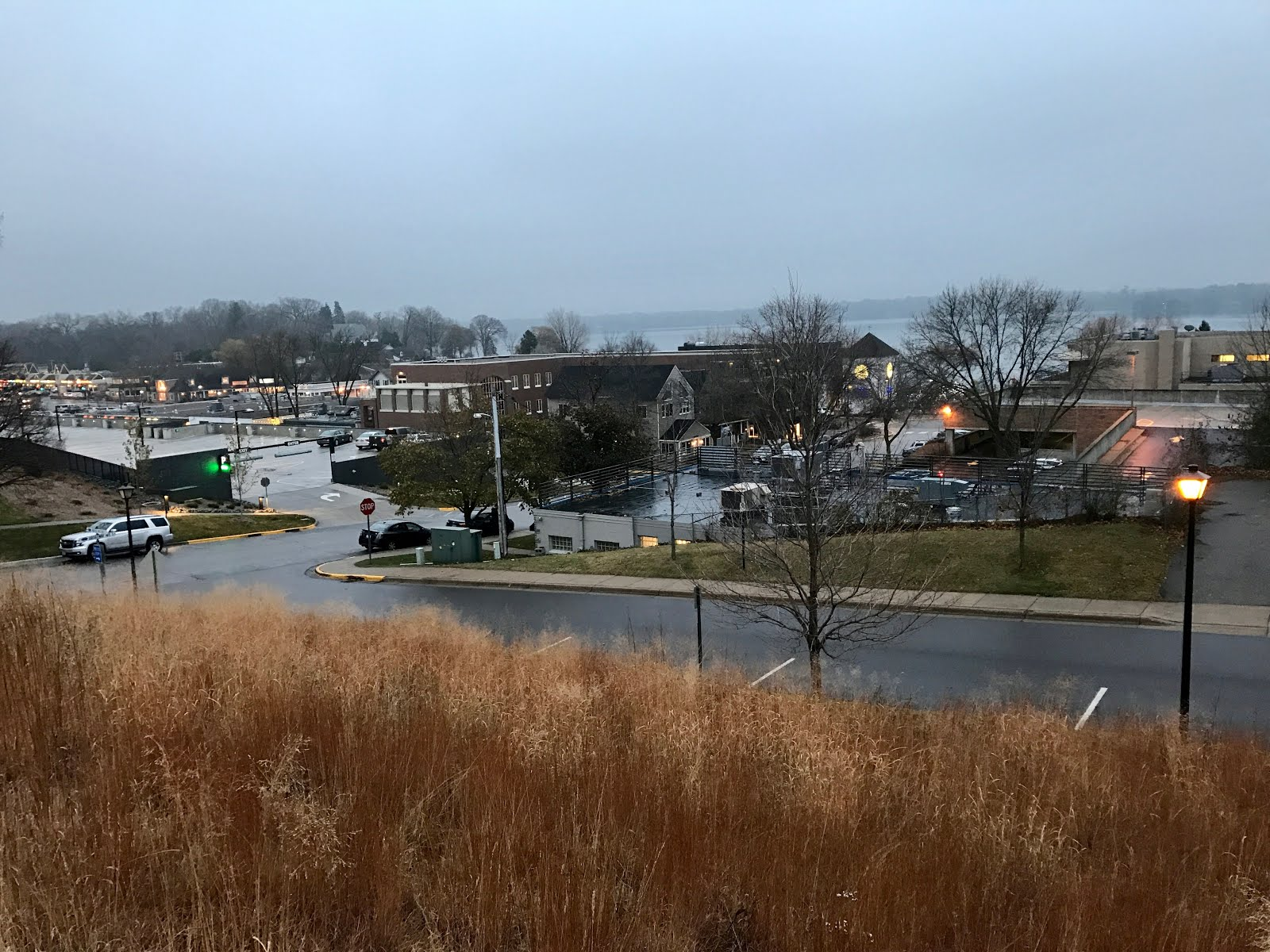 Town of Wayzata Turns the Lights on Early.