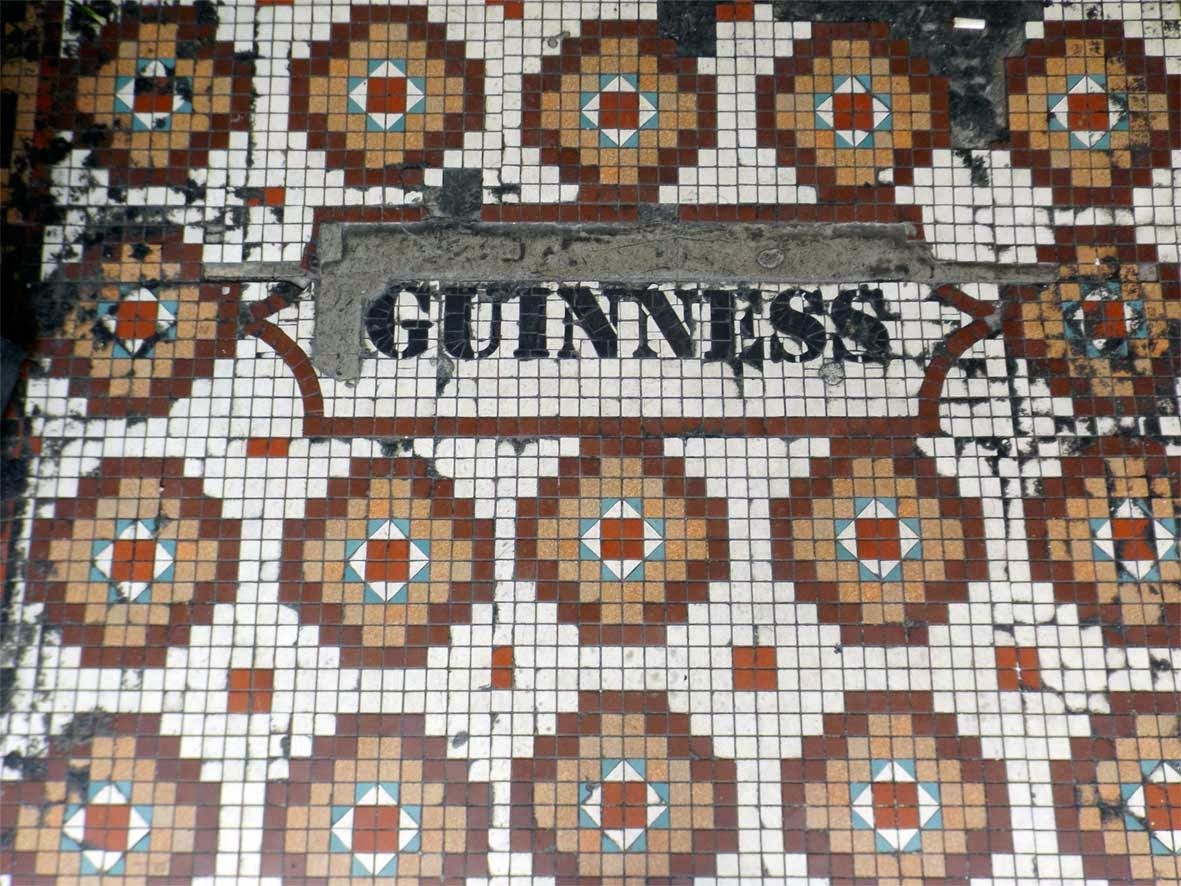 guinness mosaic whistle and flute the swift putney