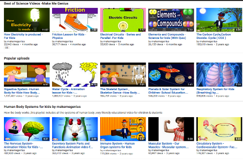 5 Excellent YouTube Channels for Science Videos ~ Educational ...