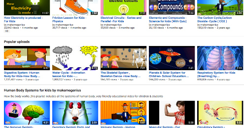 5 Excellent YouTube Channels for Science Videos