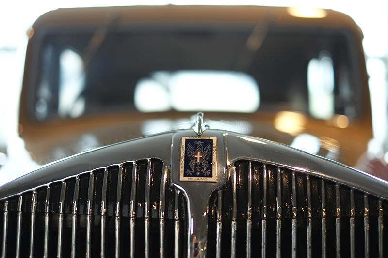 Museo Nicolis, automobile Bianchi d'epoca