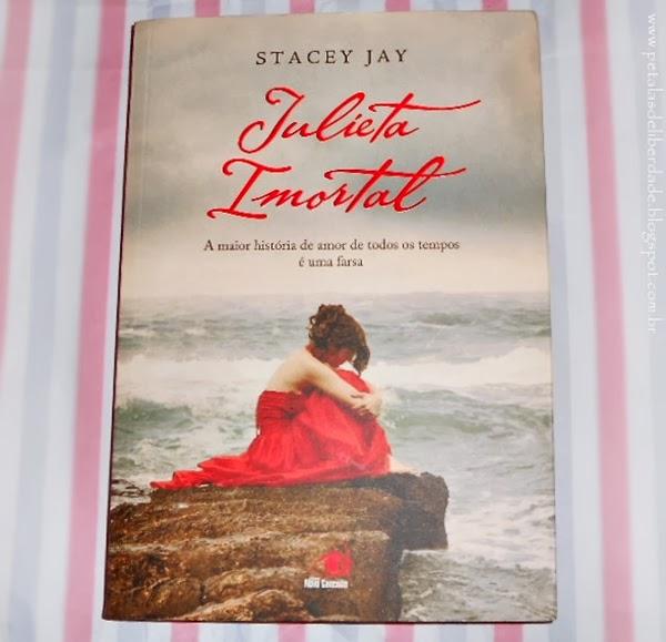 capa, livro, resenha, romance, Romeu e Julieta, Julieta Imortal, Stacey Jay, Novo Conceito, William Shakespeare