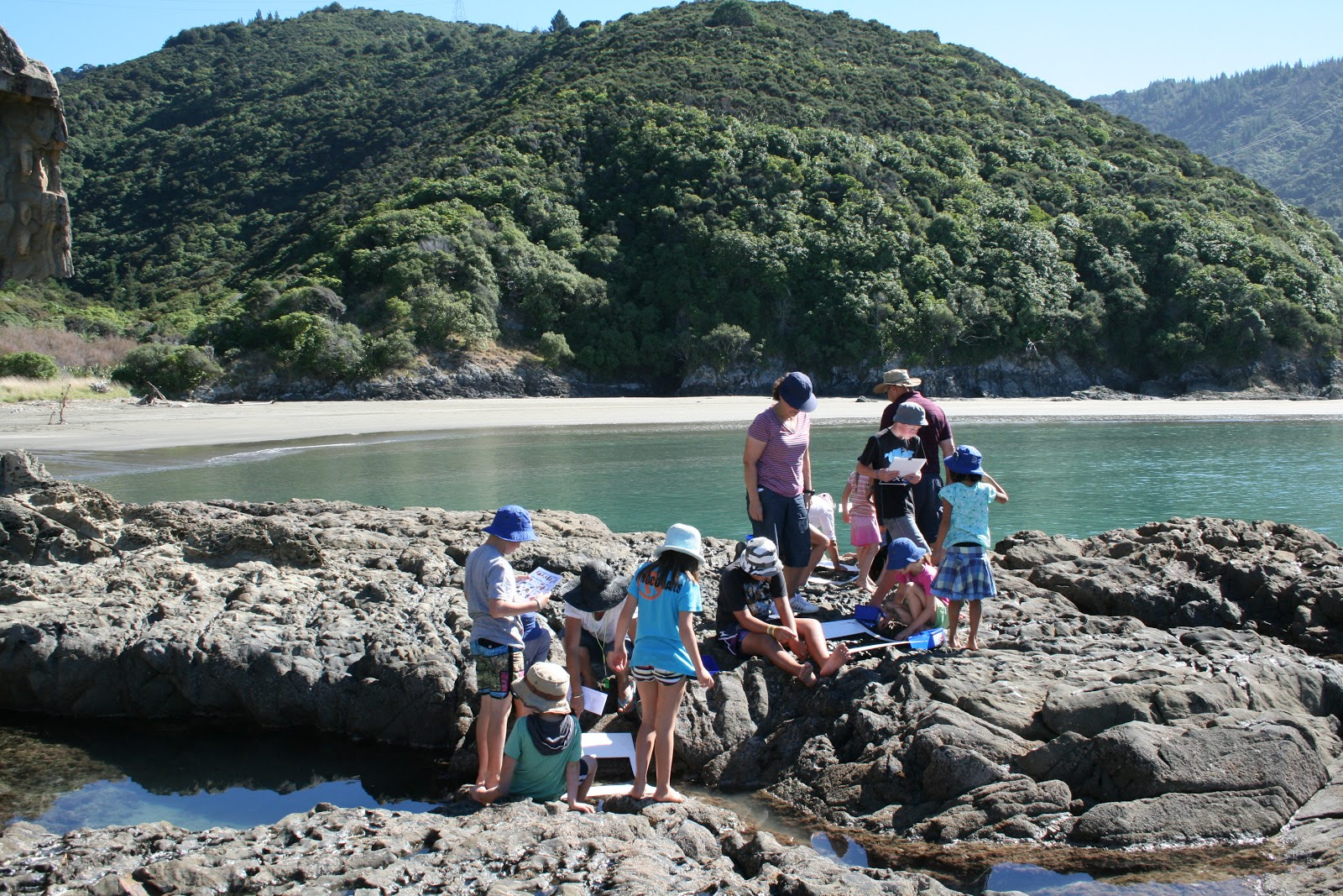 exploring rocky shores Looking for an exciting ocean adventure go no further than the sanctuary's rocky shores and tide pools during low tide, it's a great place to discover sea life without getting wet.