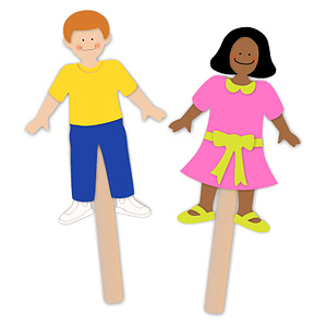 popsicle stick puppets printable Car Tuning