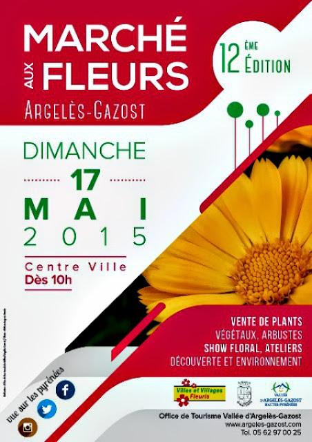 12ème Marché aux Fleurs d'Argelès-Gazost