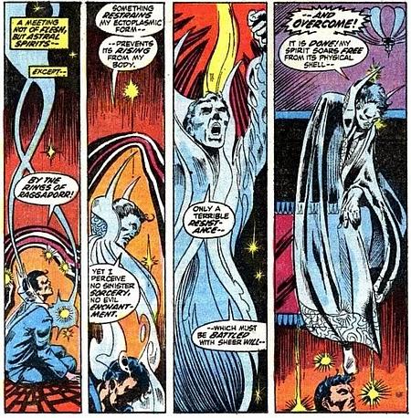 Marvel Premiere #4, Dr Strange goes ectoplasmic