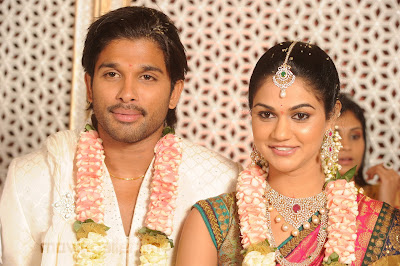 Allu Arjun Wedding Photos