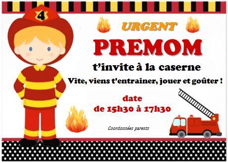 Sehr Agencer et Mijoter: DIY Anniversaire pompier 4 ans FI16