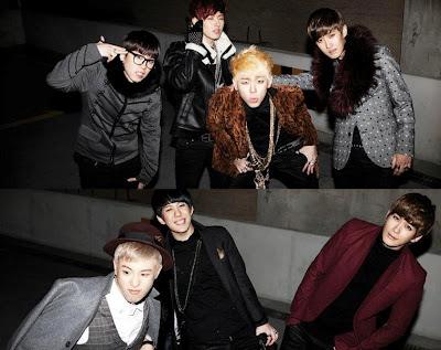Block B Nalina members being silly