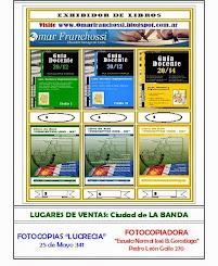LUGARES DE VENTA: Ciudad de LA BANDA
