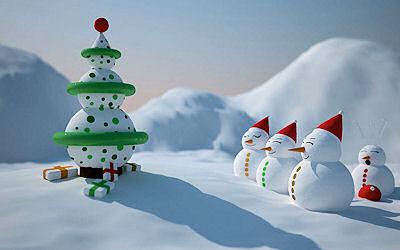 28 imágenes para Navidad - Christmas postcards