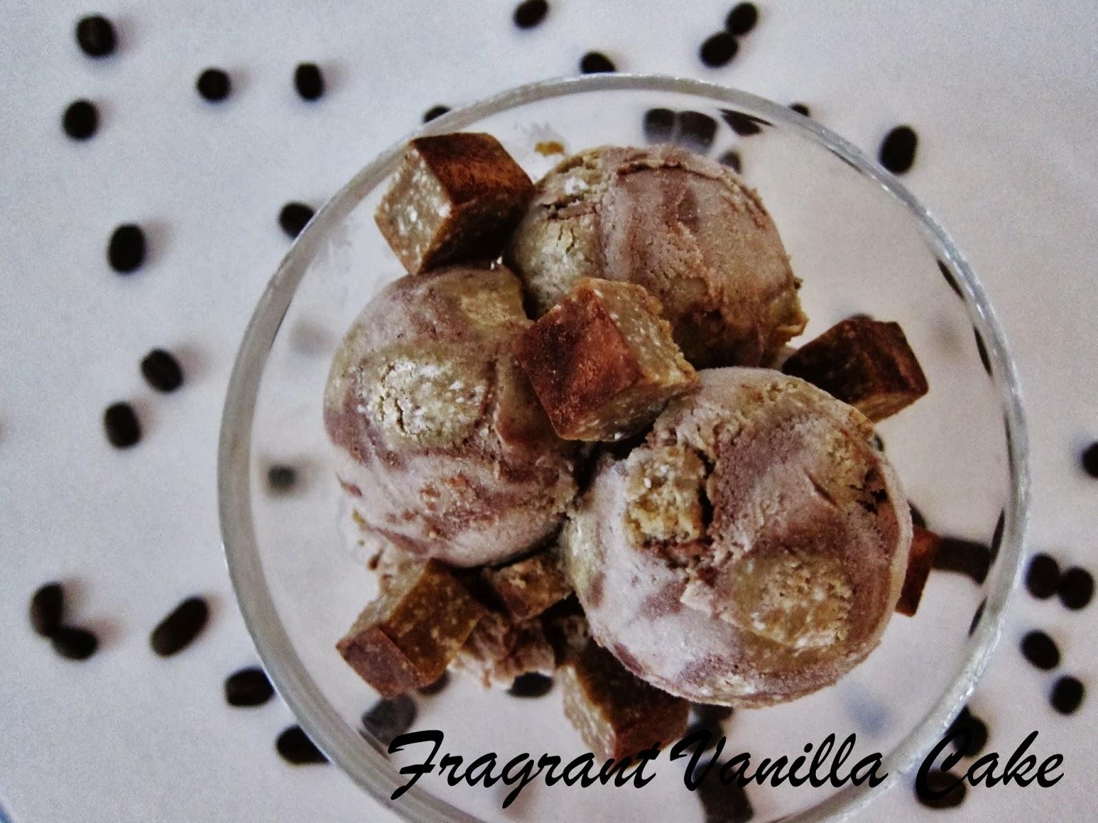 Raw Tiramisu Ice Cream