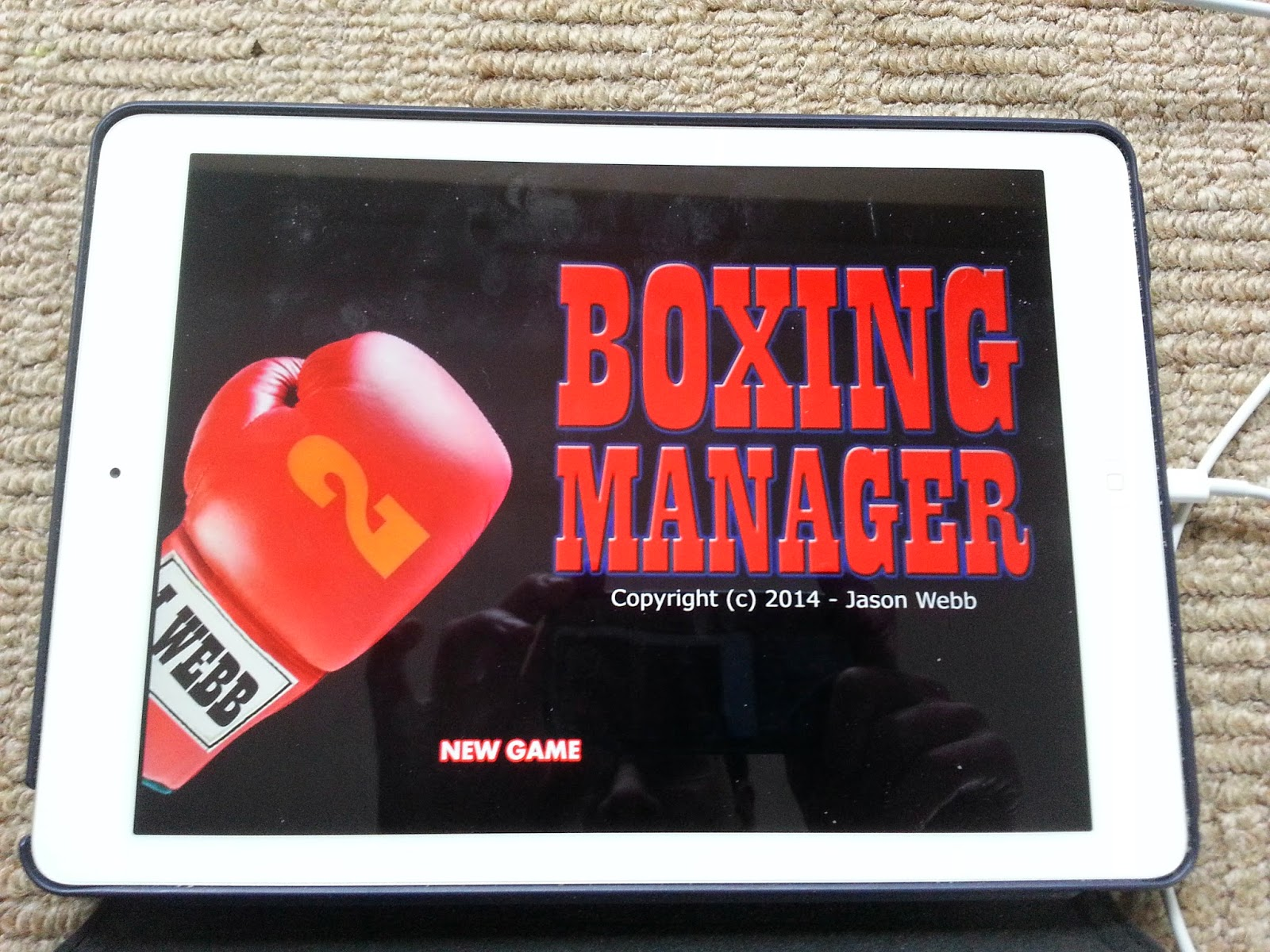Boxing Manager Game for iOS - iPhone and iPad - coming soon!