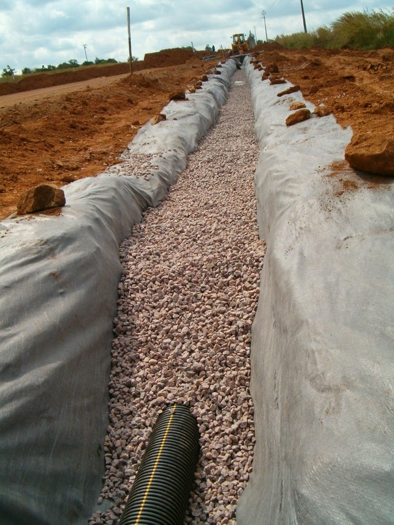 Creative retaining landscaping how to do sub soil for Soil drainage system