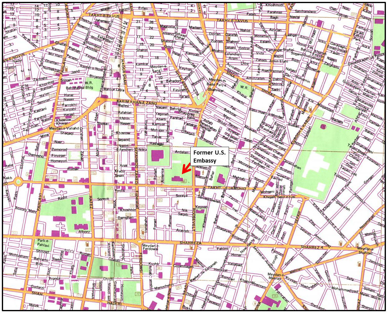 new orleans airport map with Tehran City Map on Houston Air Route Traffic Control Center also Nana together with Taca International Airways Flug 110 likewise Tehran City Map moreover Albuquerque Neighborhoods Map.