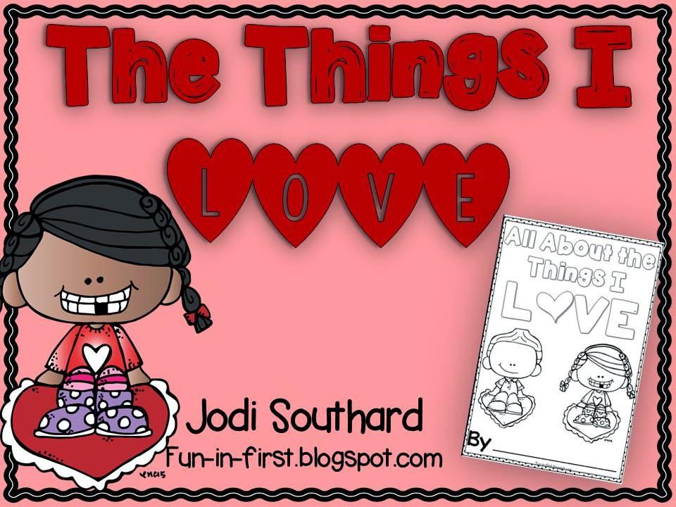 https://www.teacherspayteachers.com/Product/Things-I-Love-Booklet-1701168