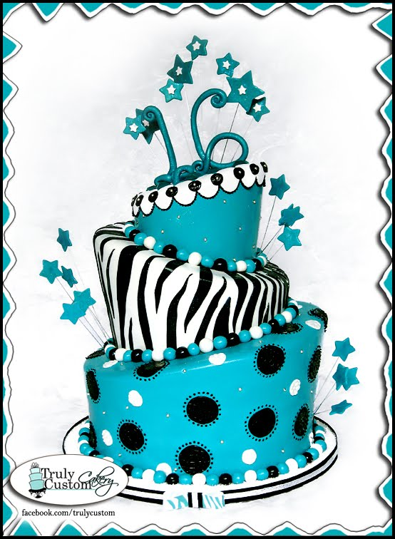 Popular Prints for a Trendy Cake