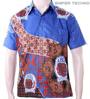 Gambar Baju Batik Bola Arema Indonesia