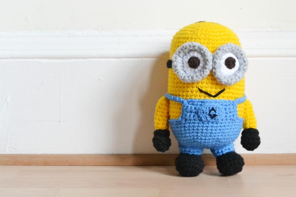 crochet minion handmade