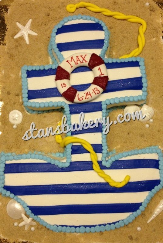 Leslie\'s Cool Cakes from Stan\'s Northfield Bakery: Nautical First ...