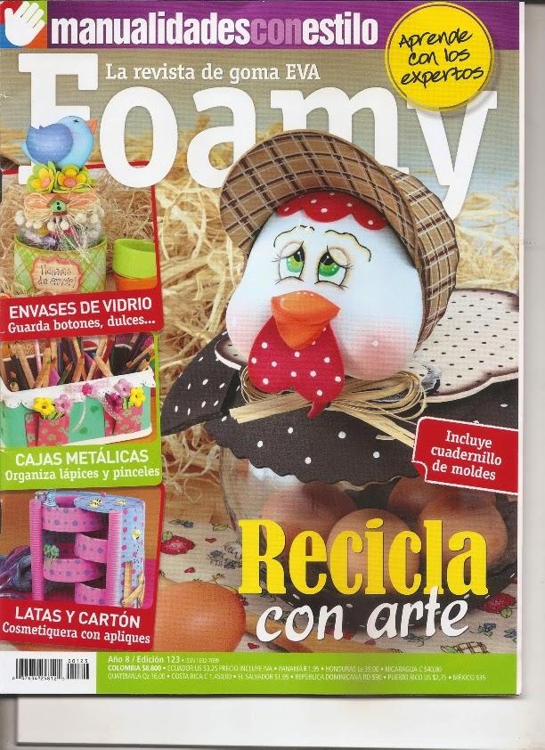 Revistas de manualidades Gratis: Como hacer una gallina fofucha