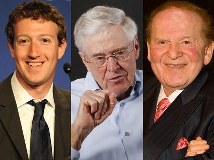 Billionaires Now Own American Politics