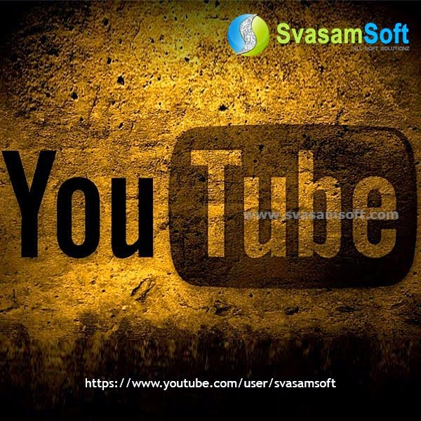 Svasamsoft YouTube