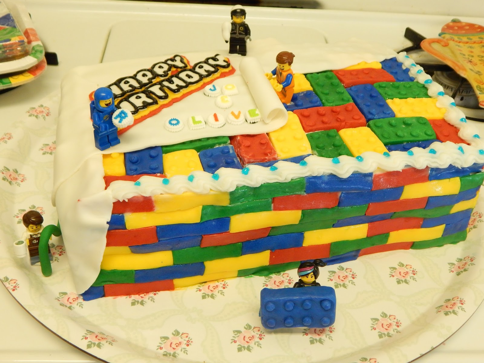 Im Going To Make It After All Lego Birthday Cake