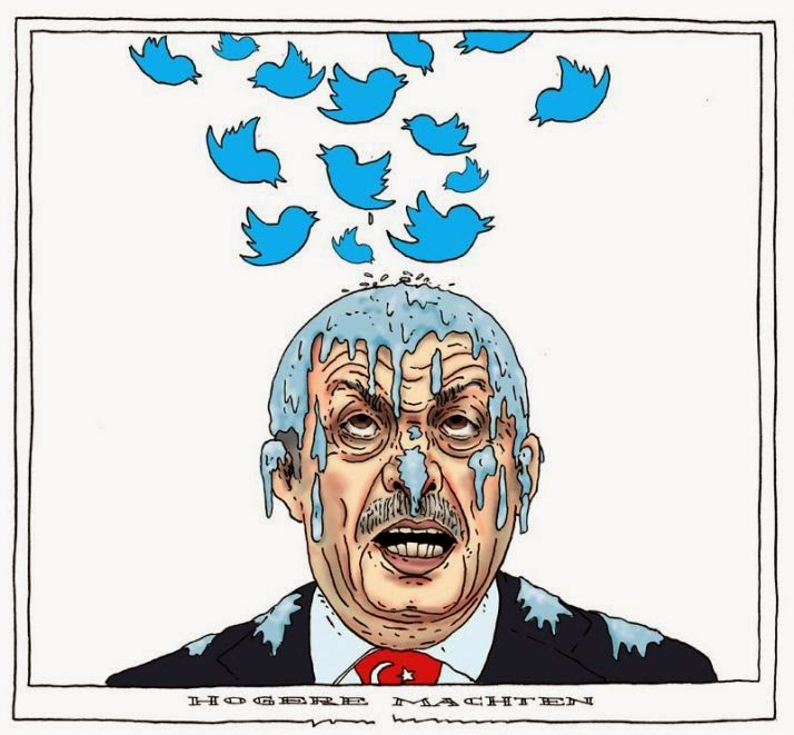 recent cartoons over erdogan