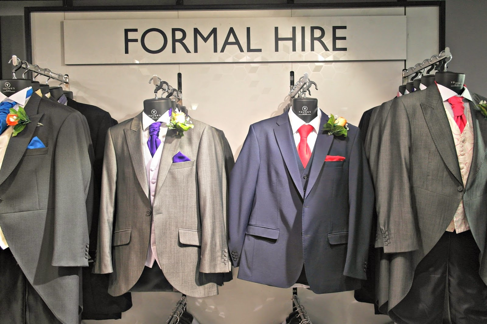Hiring your wedding suits from Debenhams - Tales of Annie Bean
