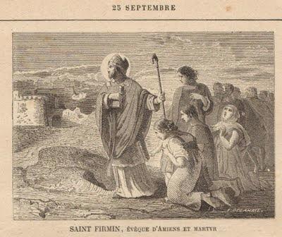 """Résultat de recherche d'images pour """"Icône de Saint Firmin, Évêque d'Amiens etmartyr"""""""