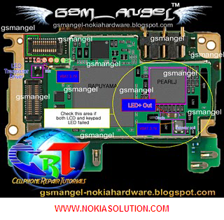02 display light jumper solution this is also called nokia x3 02 light