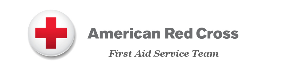 American Red Cross  First Aid Service Team