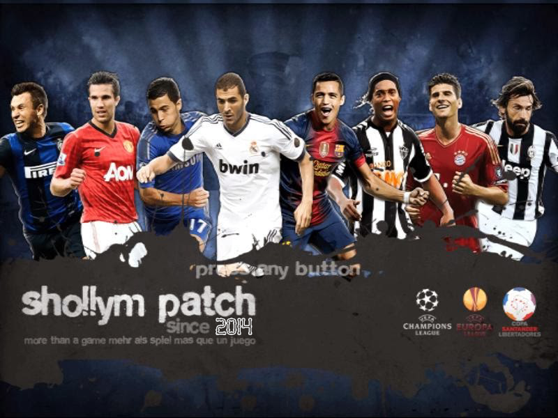 Patch Shollym 2012 Multi Patch 3 in 1 - PES 6 Edit