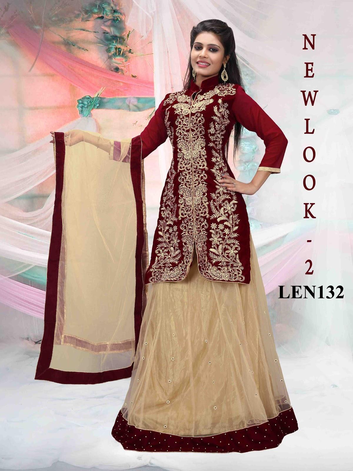 Buy Designer Net Lehenga Choli Wholesale Helix Enterprise