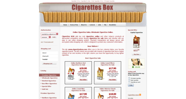 wholesale cigarettes