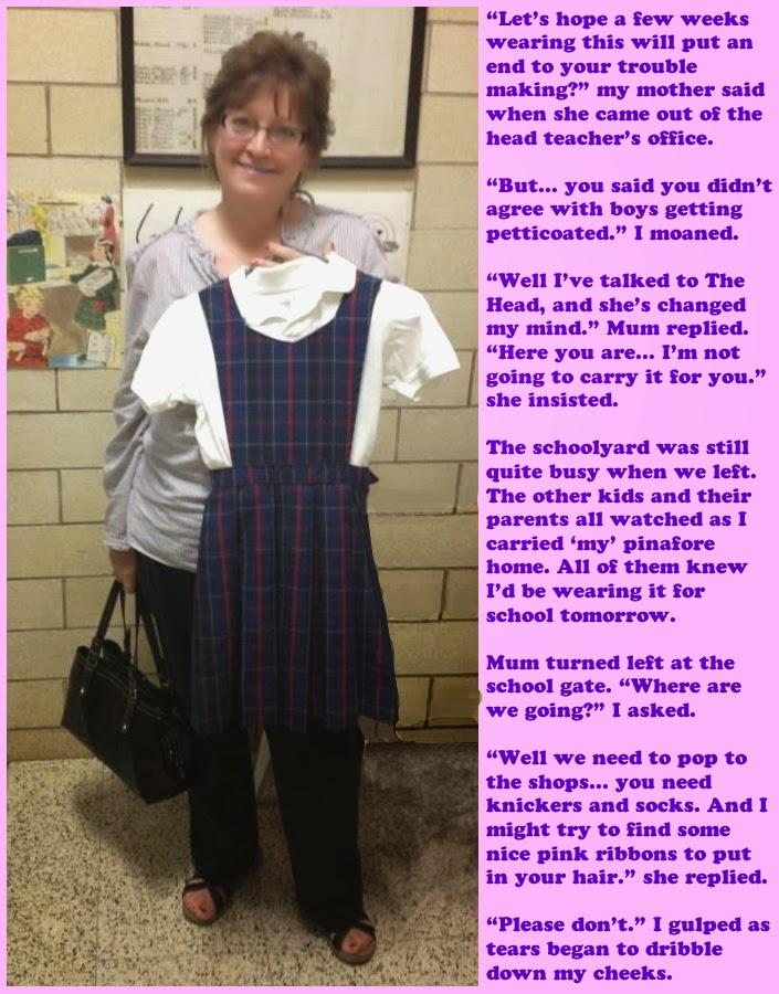 Petticoat Dresses For Boys Boy in Dress Punishment Victorian Dress ...