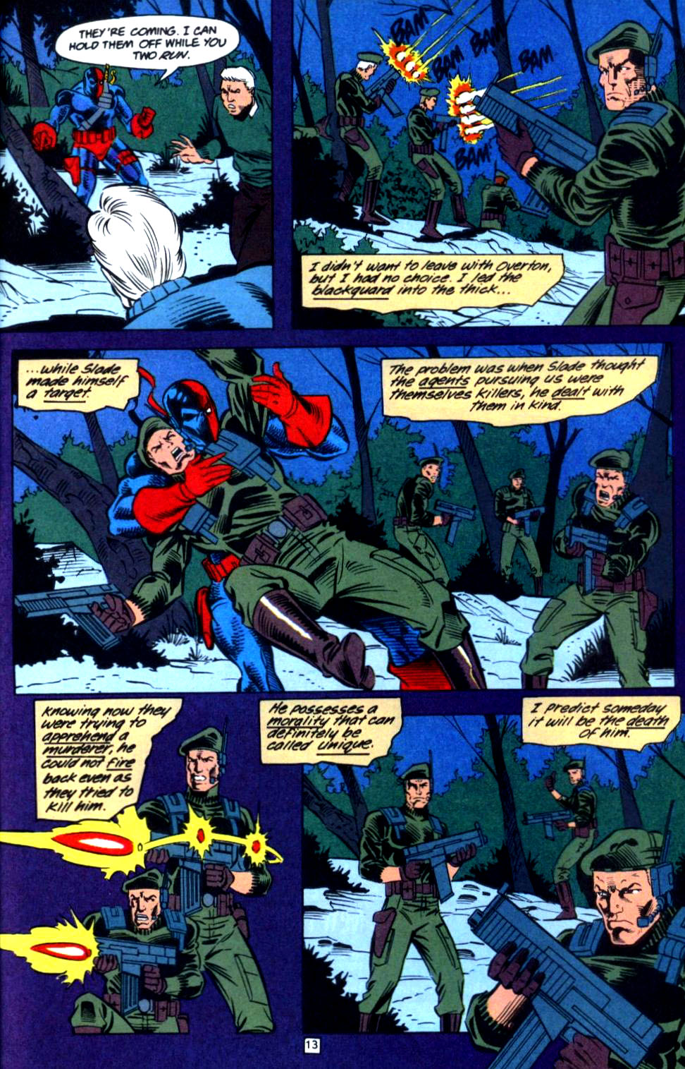 Deathstroke (1991) Issue #36 #41 - English 14
