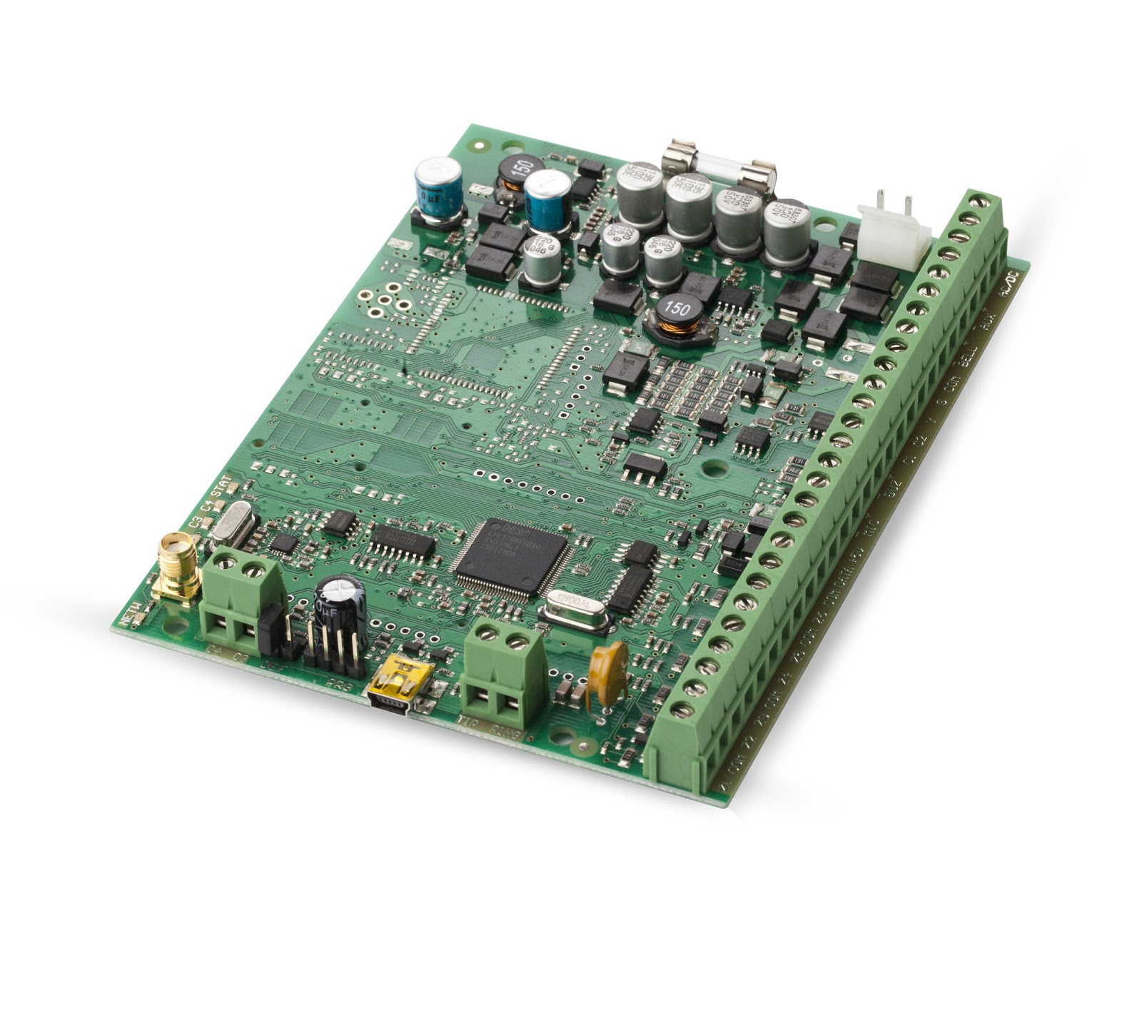Eldes Electronic Design July 2013 Printed Circuit Boardprogrammable Integrated And Inverter Security Of Premises Control