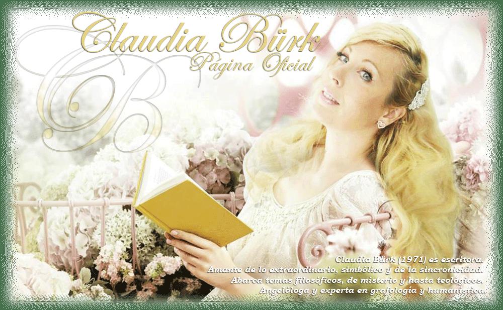 Página oficial de Claudia Bürk (Escritora)