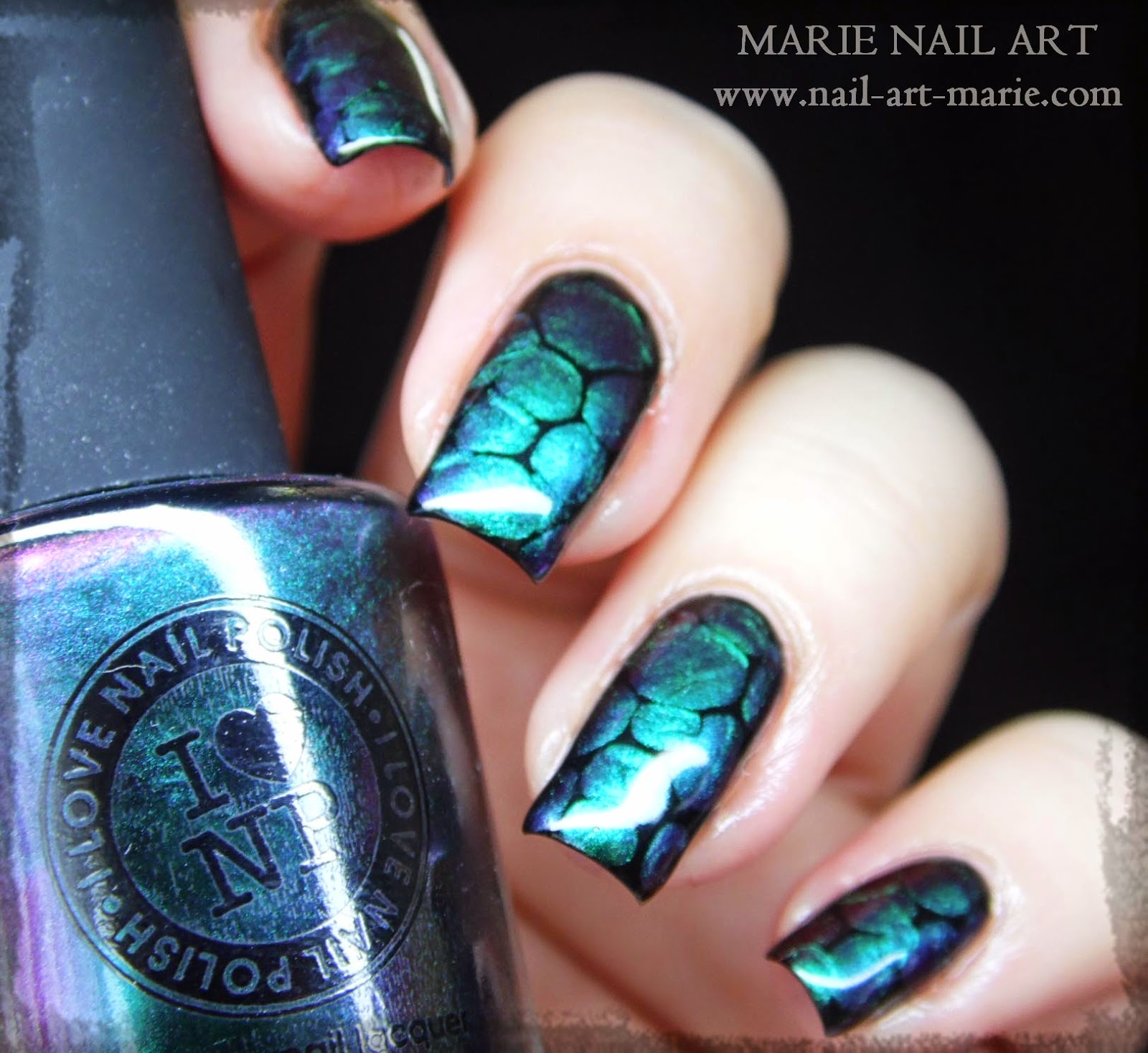 vidéo nail art blobicure