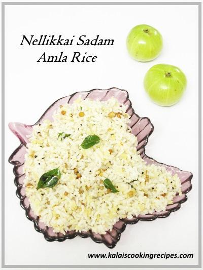 Nellikkai Sadam | Amla Rice