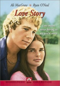 Citazione dal film Love story