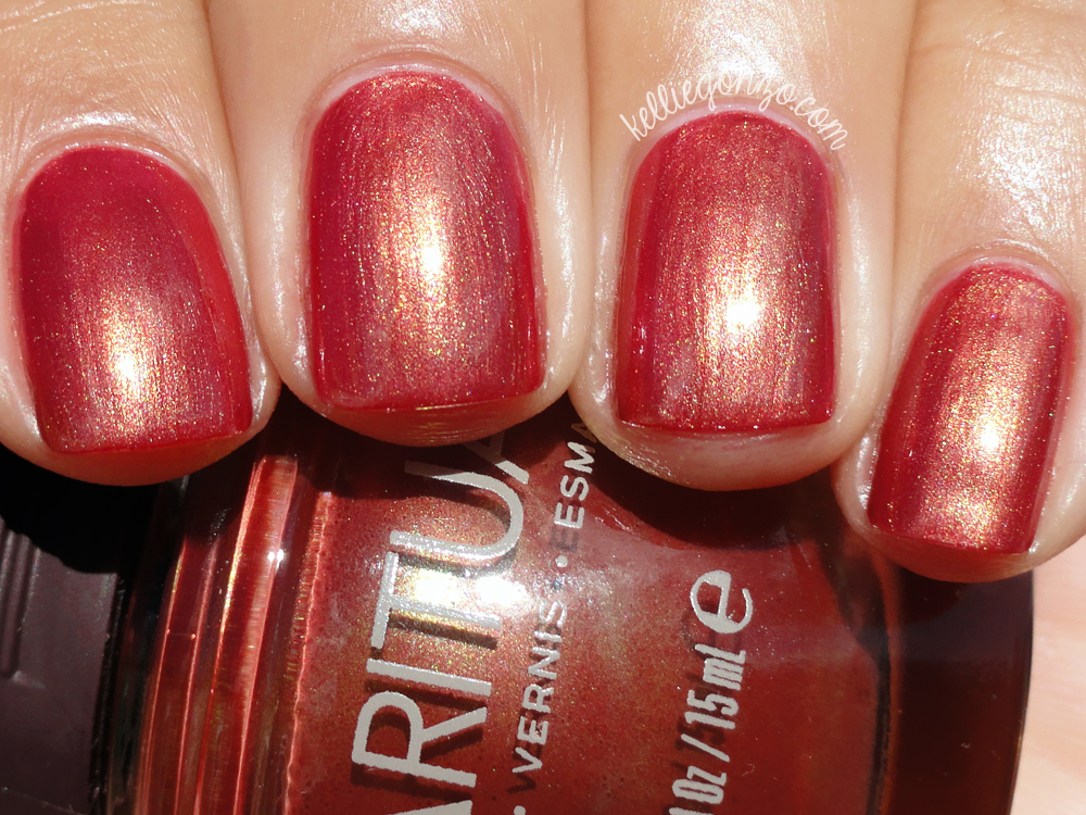 KellieGonzo: Sparitual Fall in Love Swatch & Review