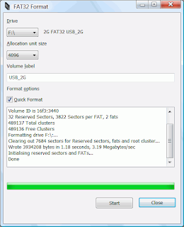FAT32 Format for windows which allows formating volume with fat32