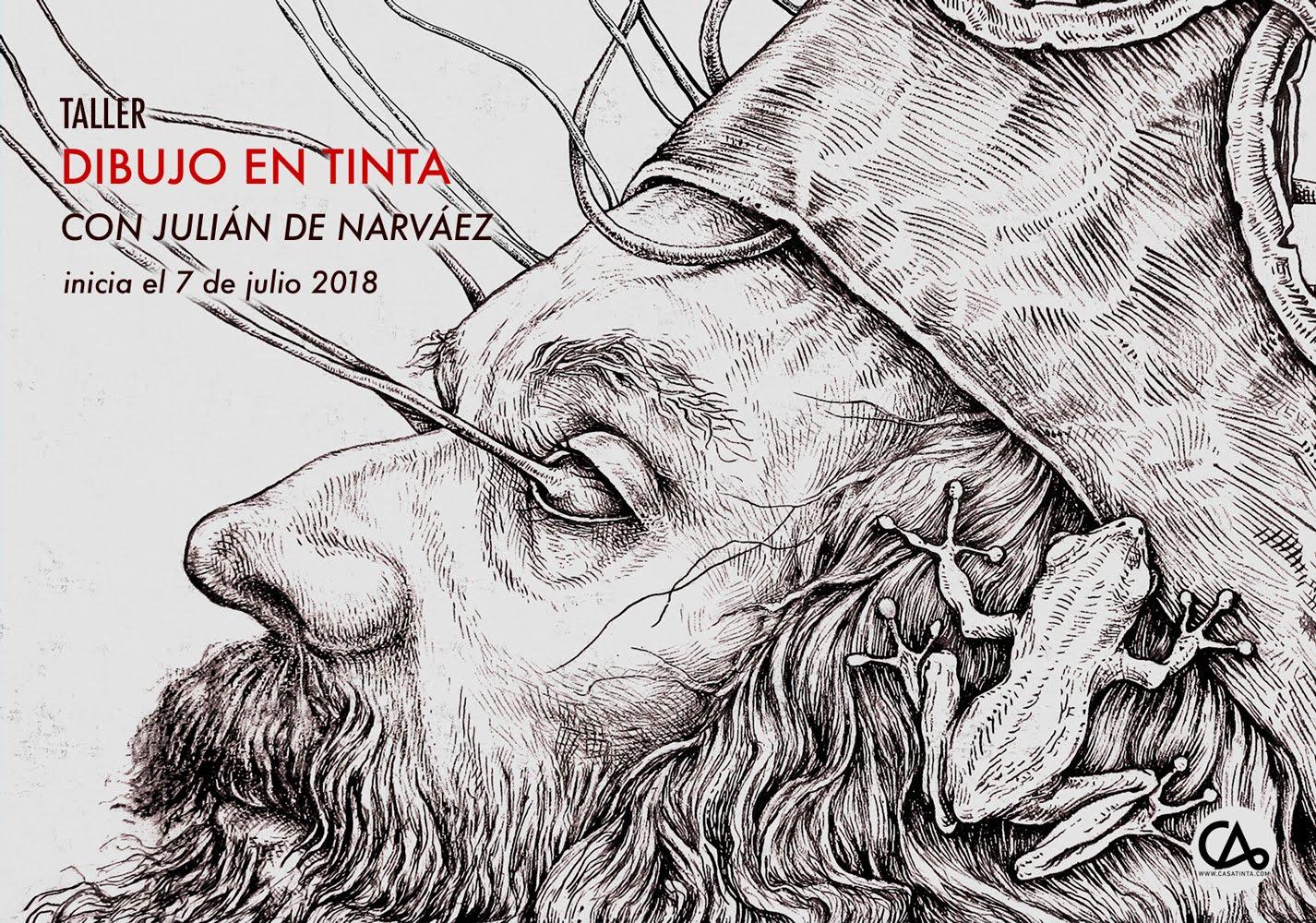 DIBUJO EN TINTA con Julián de Narváez // 7 de julio