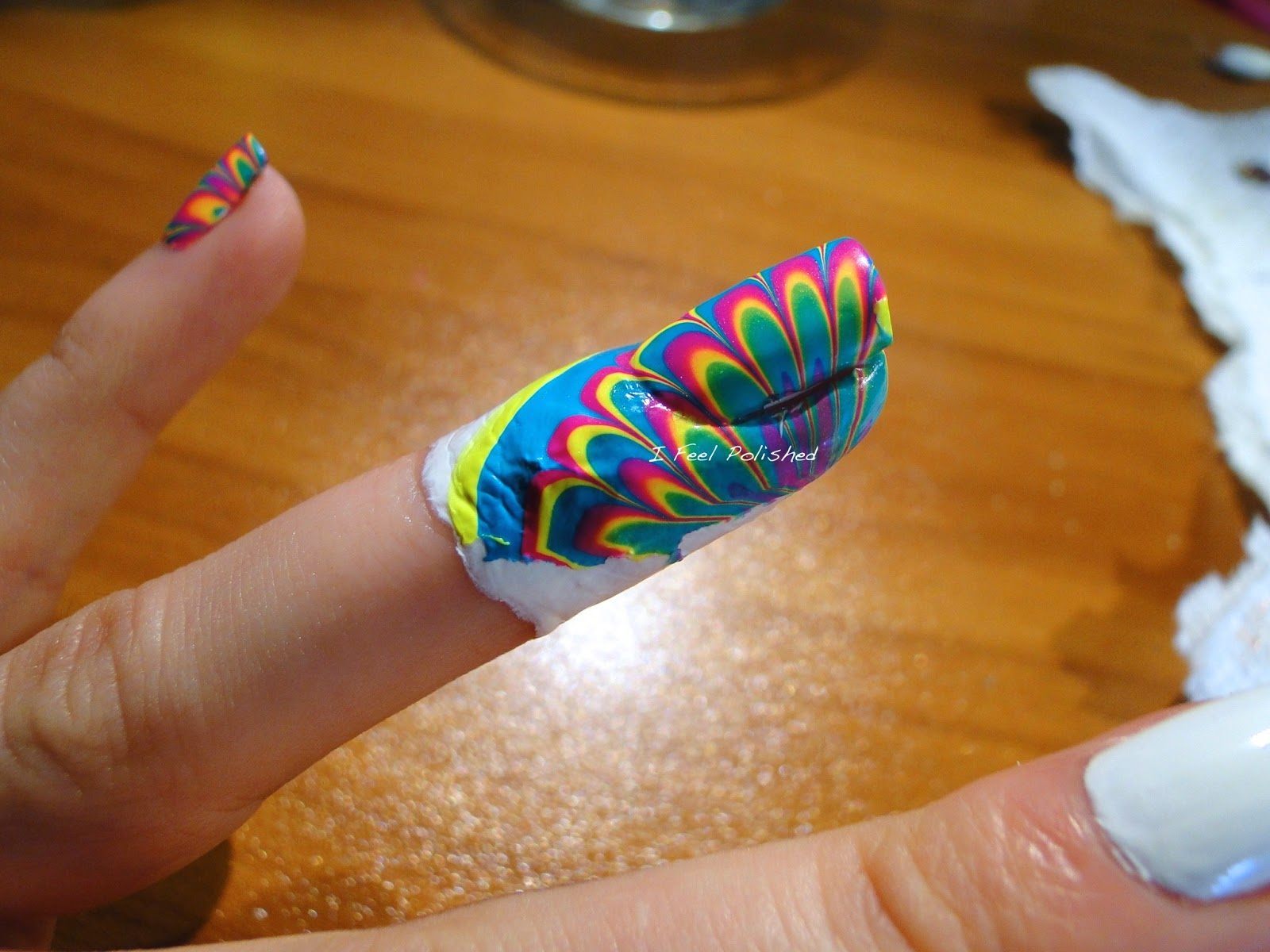 Water Marble Clean Up