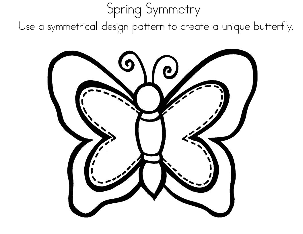 s line of symmetry coloring pages - photo #23
