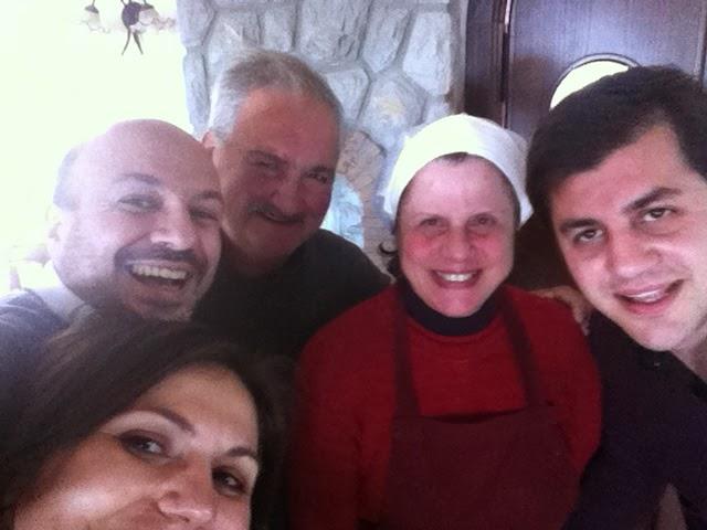 selfie famiglia