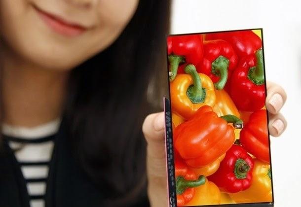 Smartphone LG bezel tipis